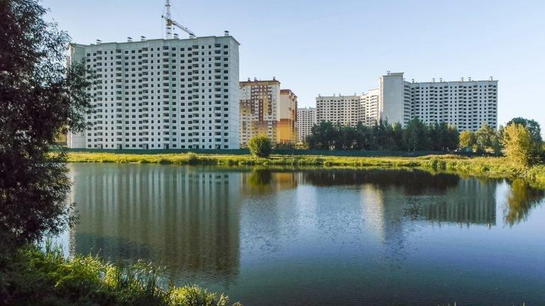 Ход строительства  Новых  Островцов. Новости июня