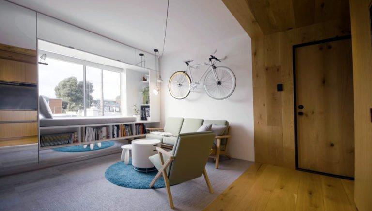 Ремонт однокомнатной квартиры. Интересный вариант