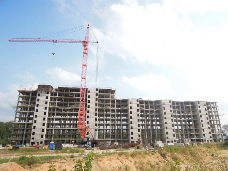Новости о ходе строительства Новых Островцов  от 23 августа 2019  года