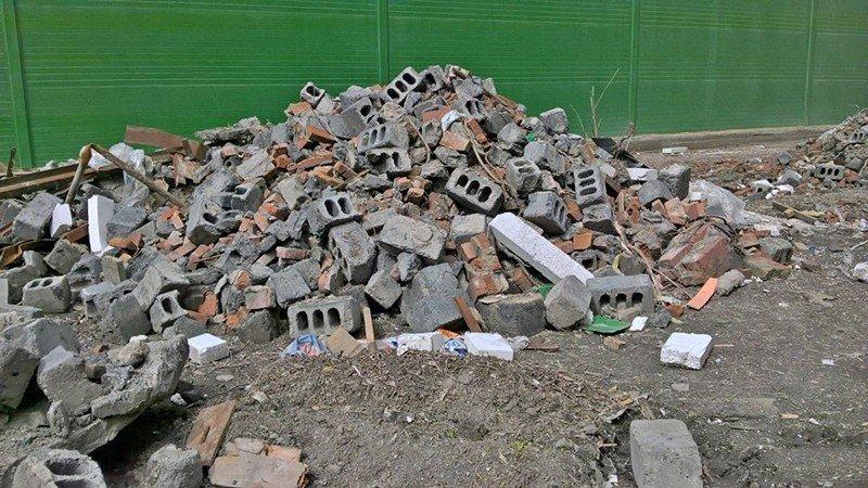 Как правильно избавиться от строительного мусора