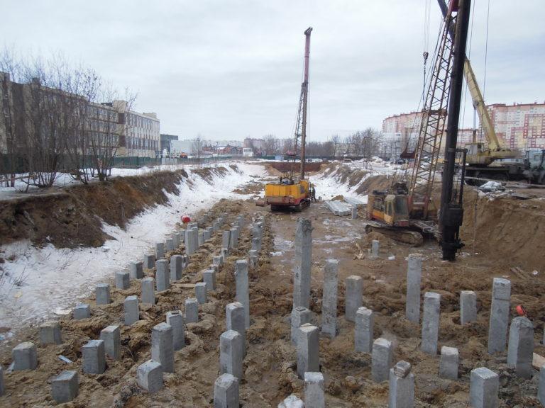 Информация о строительстве домов №2, №3 и №4 Южного квартала  от 17 марта 2021 года