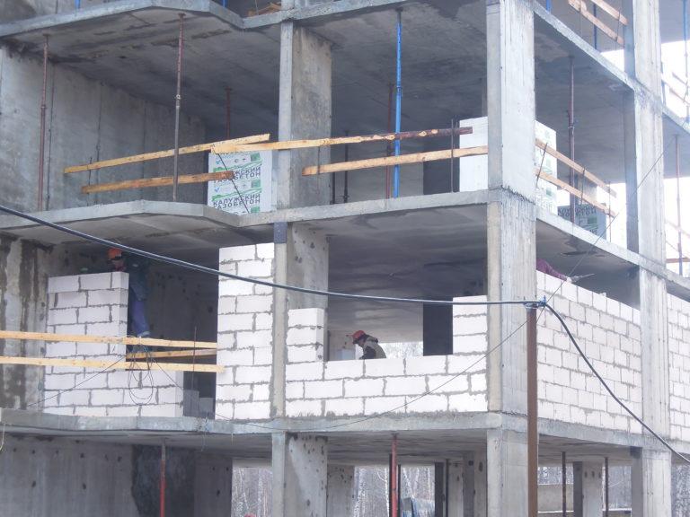 Дневник строительства домов №2, №3 и №4  Южного квартала 31 марта 2021 года