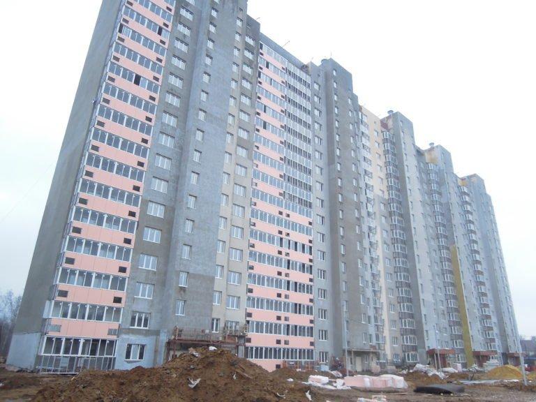 Новости строительства дома №1