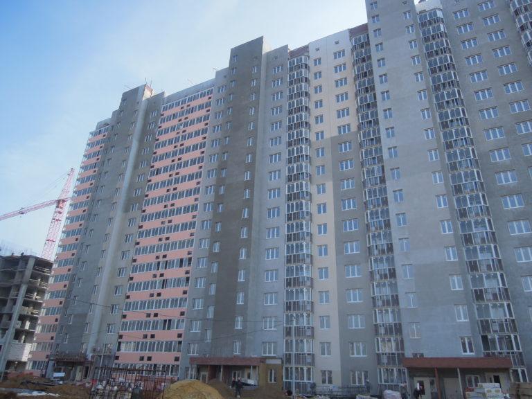 Информация о строительстве дома №1 южного квартала от 15  апреля 2021 года