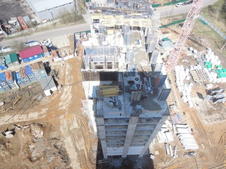 Информация о строительстве домов №2, №3 и №4 Южного квартала  ЖК Новые Островцы от  28  апреля 2021  года
