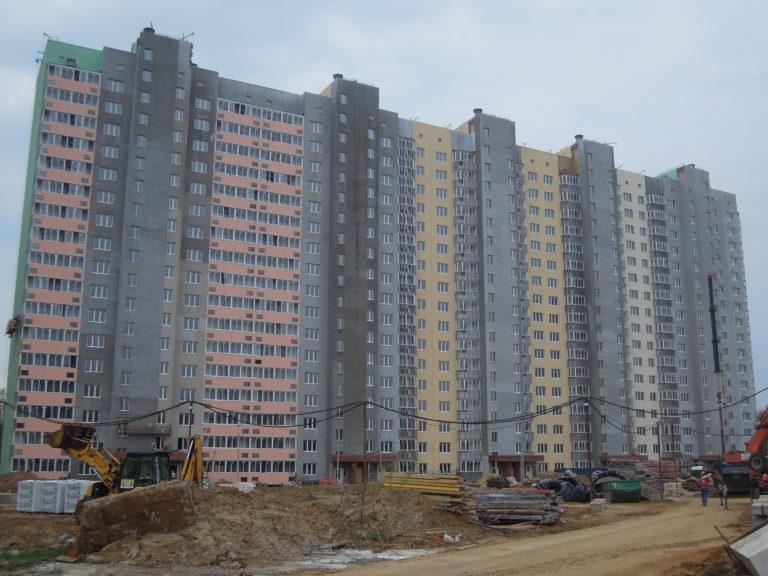 Новости строительства дома №1 Южного квартала ЖК  Новые Островцы от 13 мая 2021 года