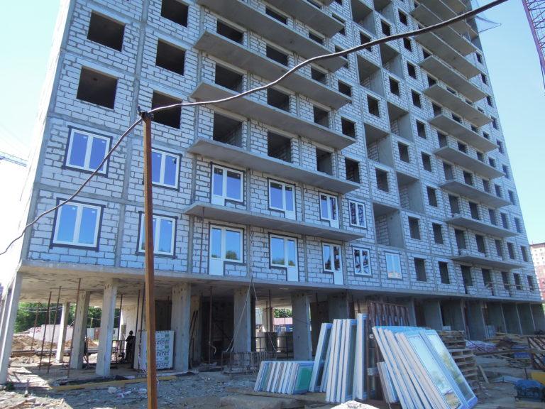 Новости строительства домов №2, №3 и №4 Южного квартала ЖК Новые Островцы от 16 июня 2021 г.