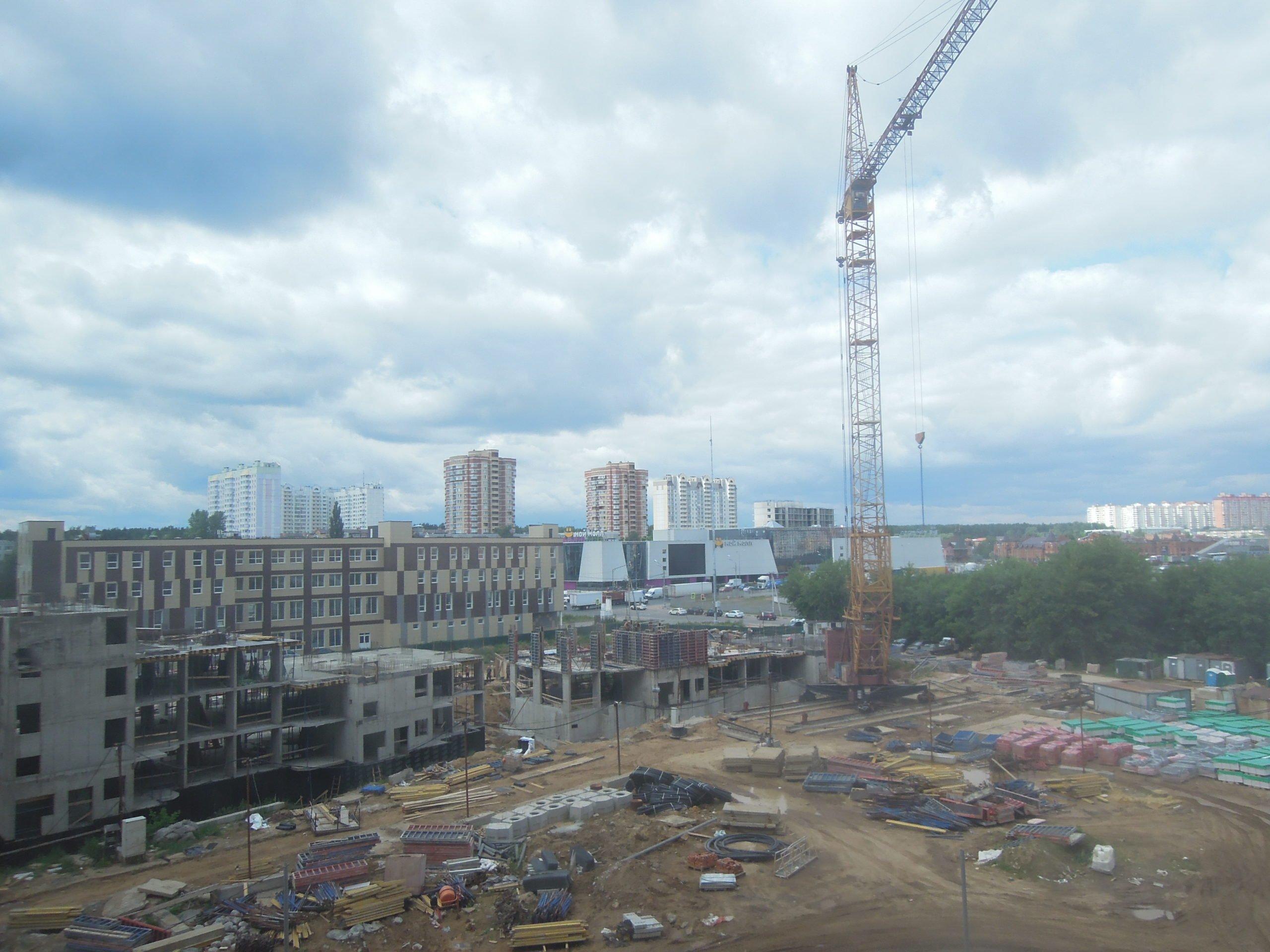 Информация о строительстве домов №2, №3 и №4 Южного квартала ЖК Новые Островцы от 30 июня 2021 г.