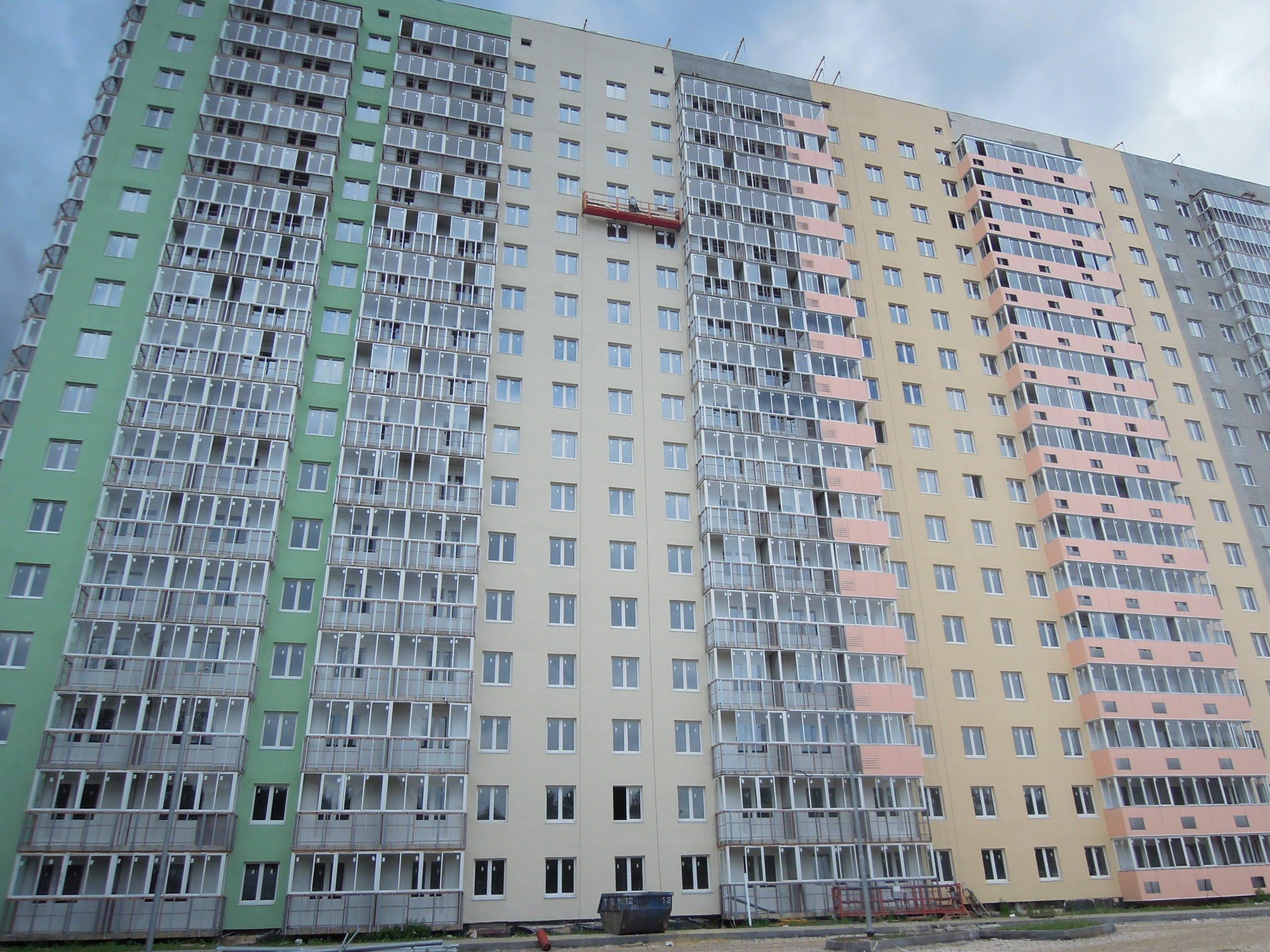 Дневник строительства дома №1 Южного квартала ЖК Новые Островцы от 2 июля 2021 г.