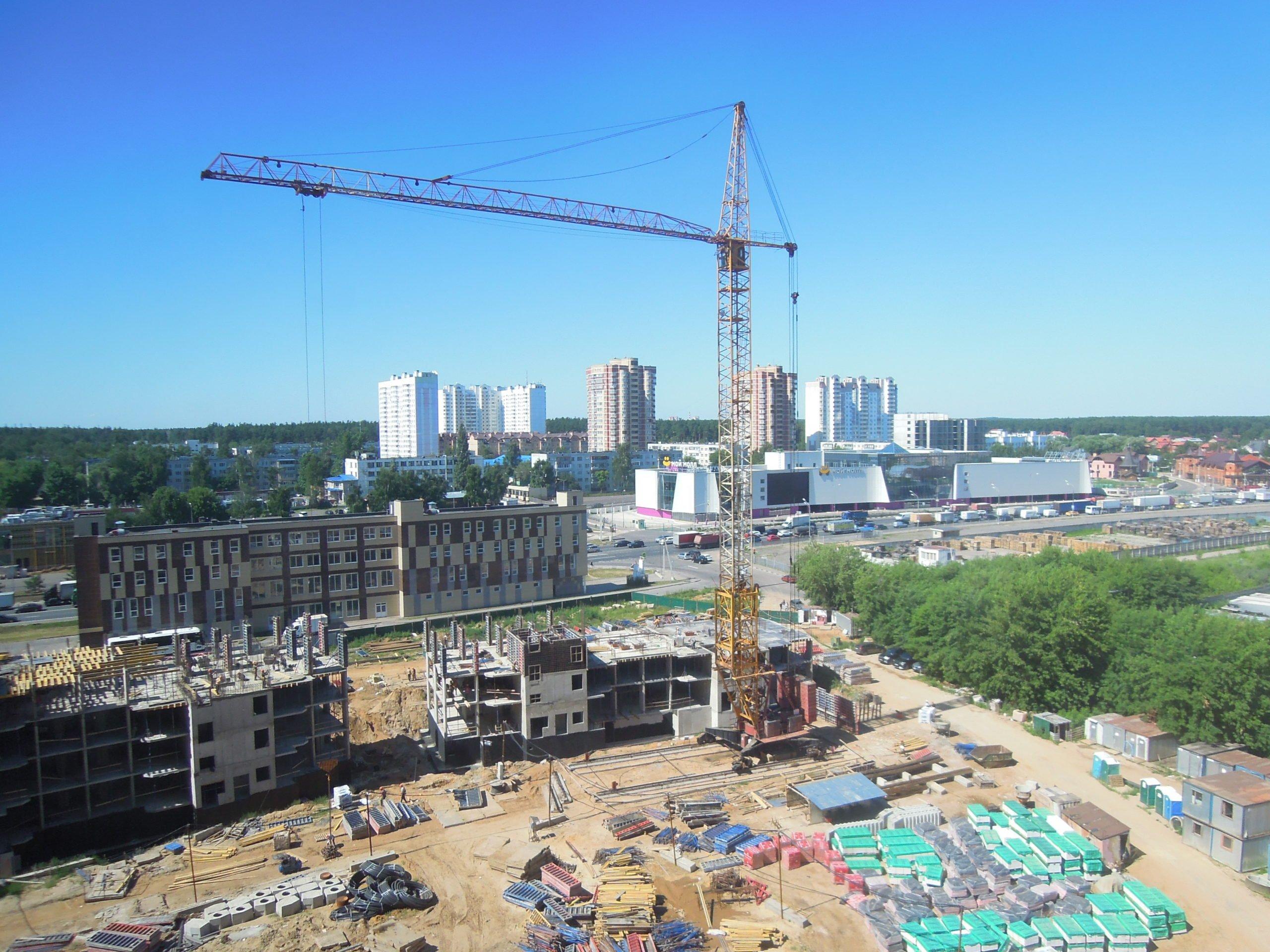 Новости строительства домов №2, №3 и №4 Южного квартала ЖК Новые Островцы от 7 июля 2021 г.