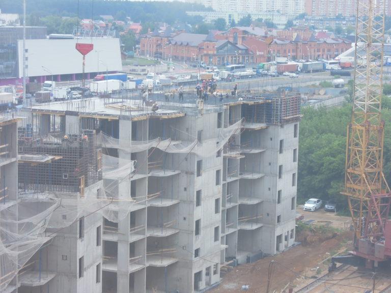 Новости строительства домов №2, №3 и №4 Южного квартала ЖК Новые Островцы от 28 июля 2021 г.