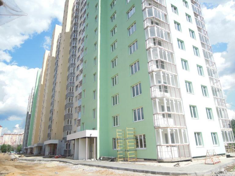 Новости строительства дома №1 Южного квартала ЖК Новые Островцы от 5 августа 2021г.