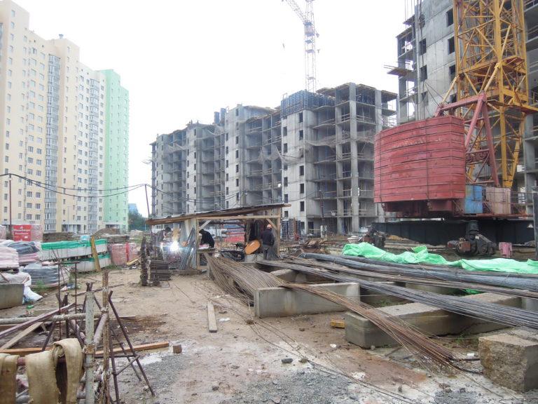 Информация о строительстве домов №2, №3 и №4 Южного квартала ЖК Новые Островцы от 12 августа 2021 г.