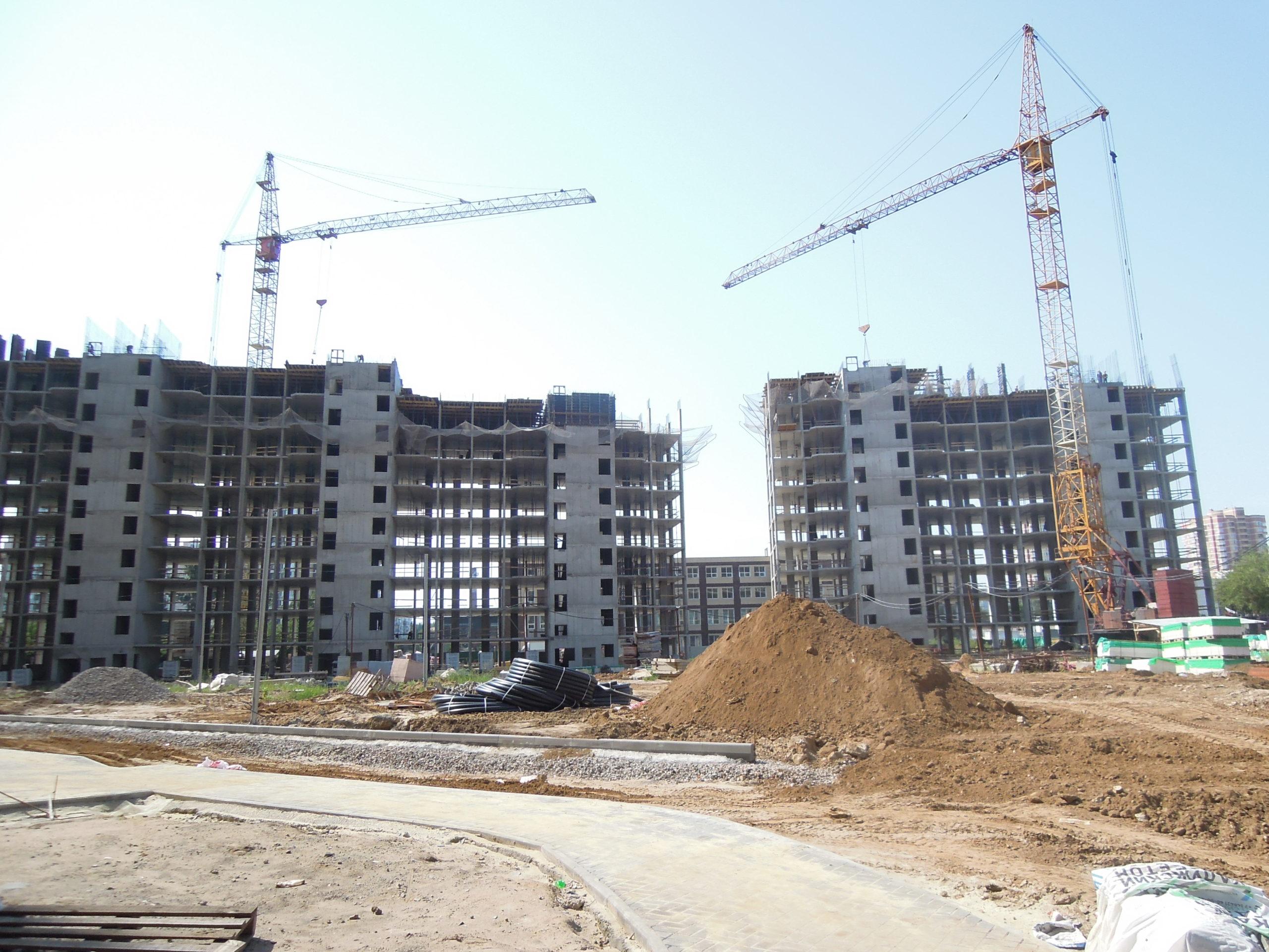 Новости строительства домов №2, №3 и №4 Южного квартала ЖК Новые Островцы от 18 августа 2021 г.