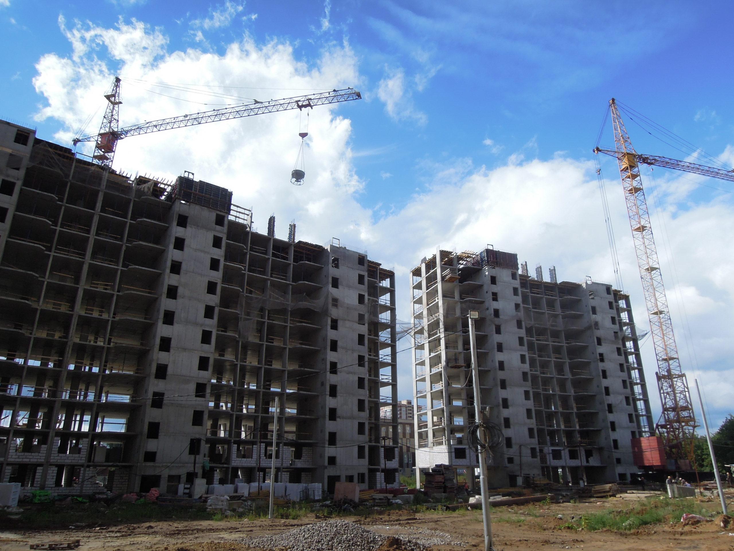 Информация о строительстве домов №2, №3 и №4 Южного квартала ЖК Новые Островцы от 2 сентября 2021 г.
