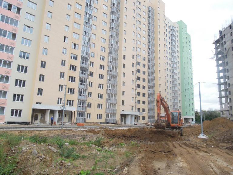 Информация о строительстве дома №1 Южного квартала ЖК Новые Островцы от 10 сентября 2021 г.