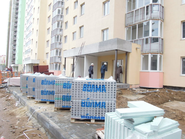 Дневник строительства дома №1 Южного квартала ЖК Новые Островцы от 24 сентября 2021 г.